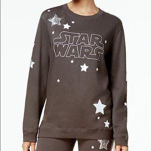 Star Wars Sequin Logo Graphic Sweatshirt